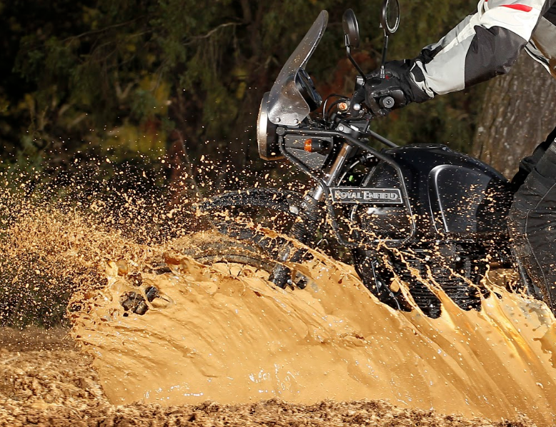 The Royal Enfield Himalayan has a torque output suited for a motorbike tour in Vietnam