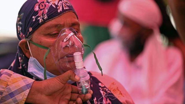 Ковид-пациент, Индия, 26 апреля 2021