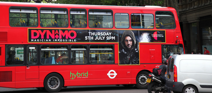 When it comes to using buses for outdoor advertising, you can choose to do as much or as little as you like.