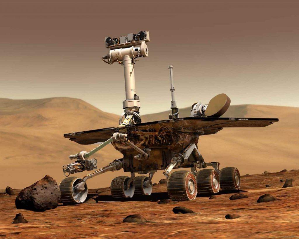 robot sao hỏa