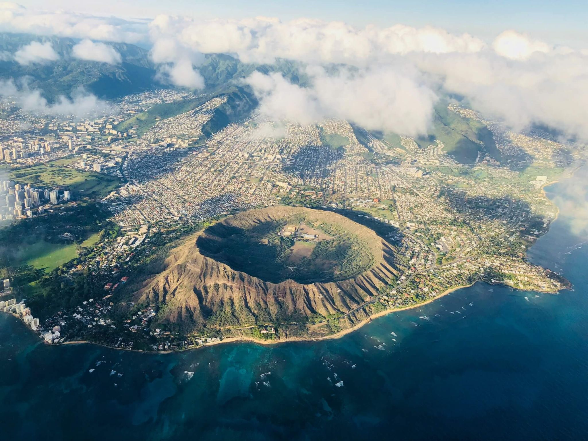 5 days in Oahu itinerary, Diamond Head Crater