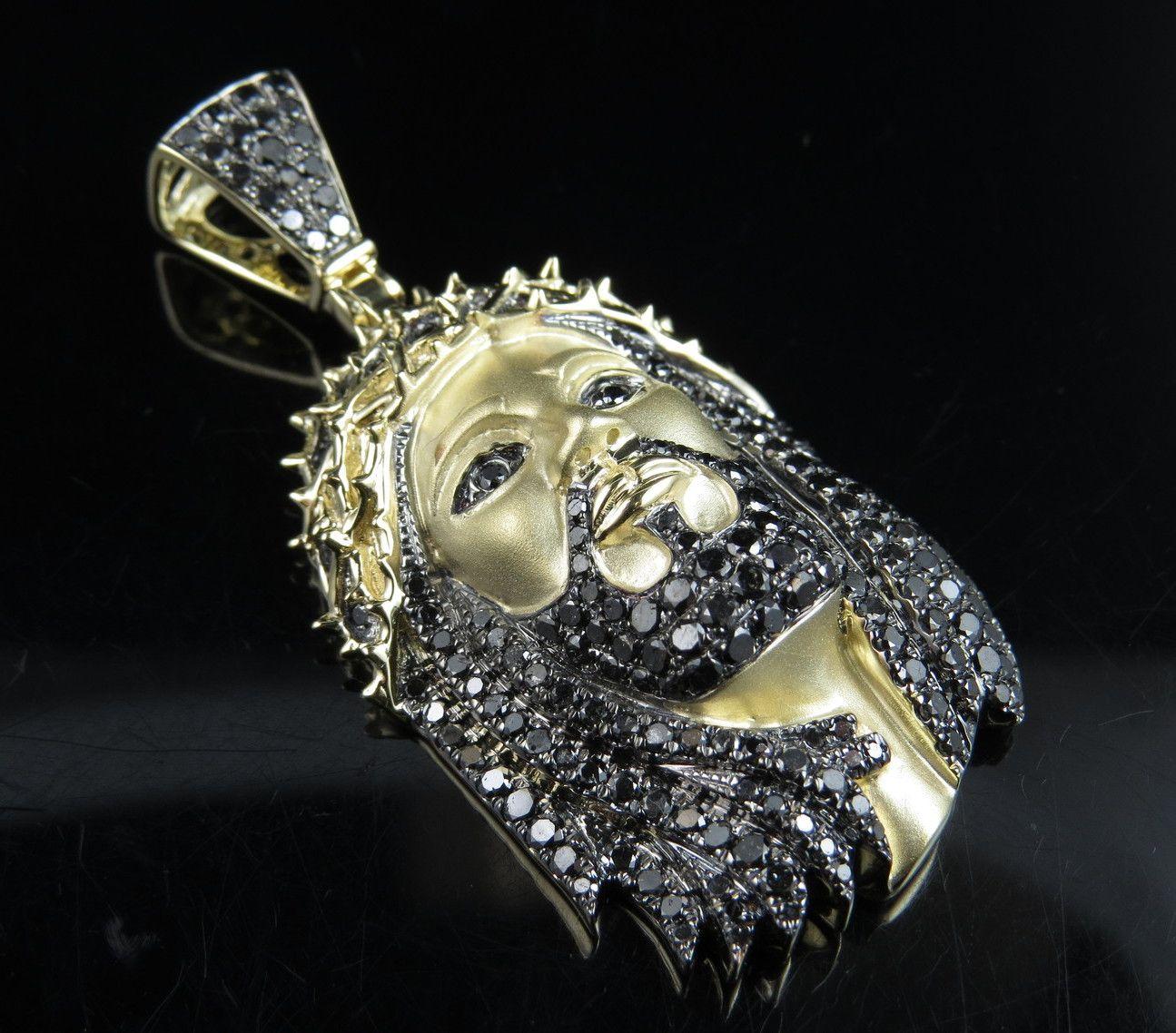 Gold piece Jesus Pendants