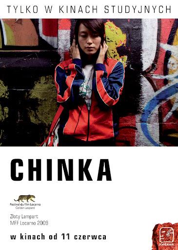 Przód ulotki filmu 'Chinka'