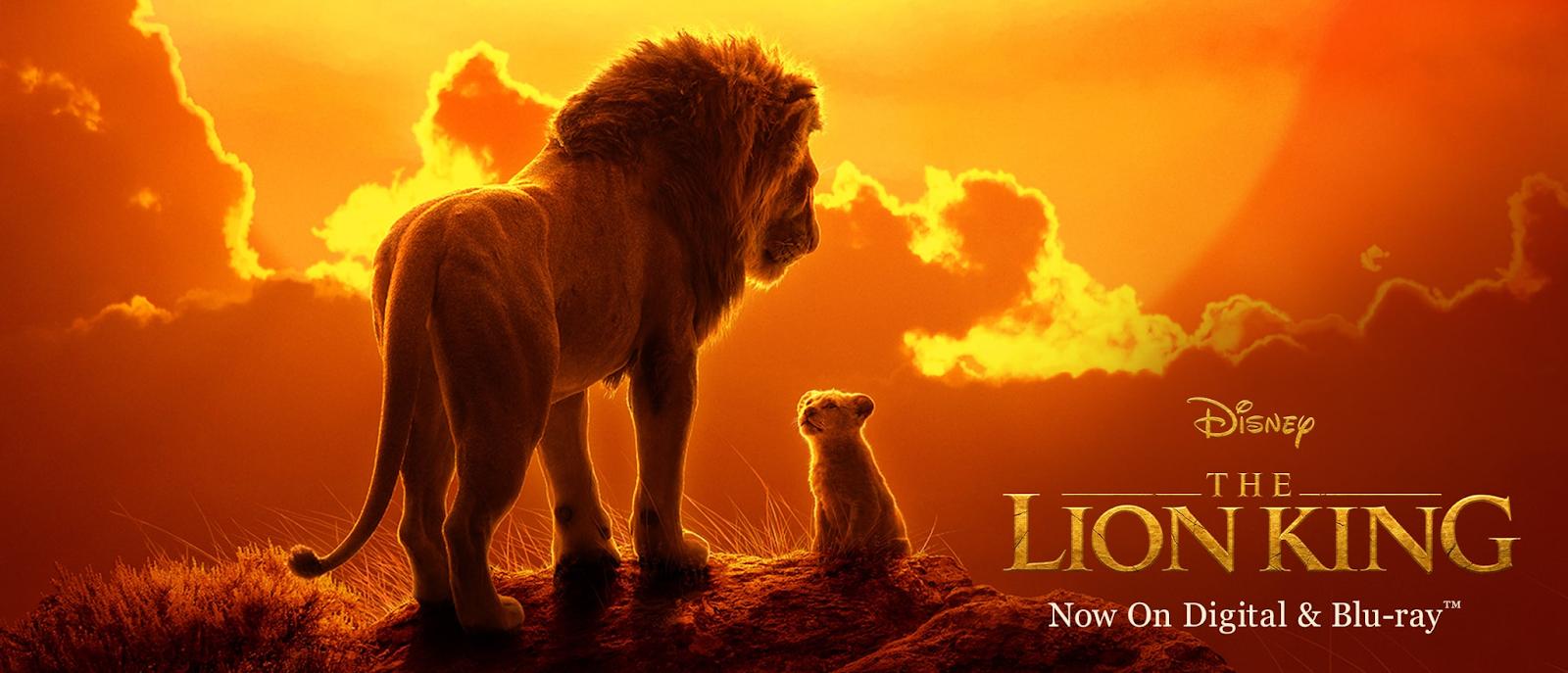 Banner do filme O Rei Leão.