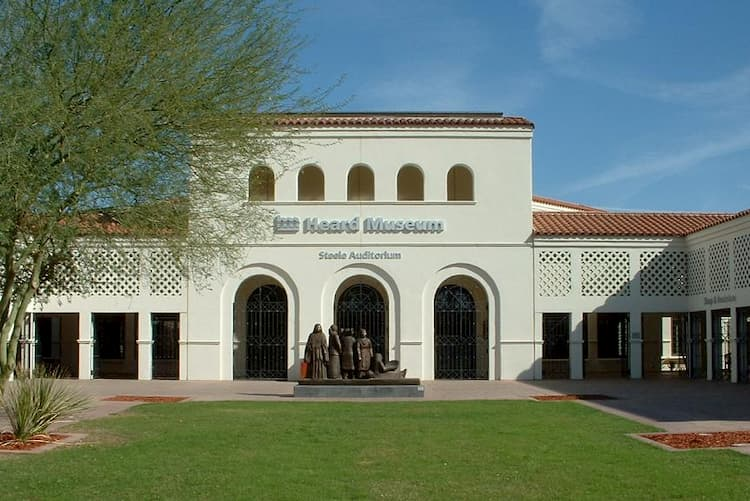 Front entrance of the Heard Museum