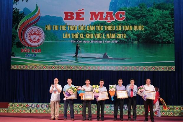 Be mac Hoi thi the thao cac dan toc thieu so toan quoc lan thu XI hinh anh 1
