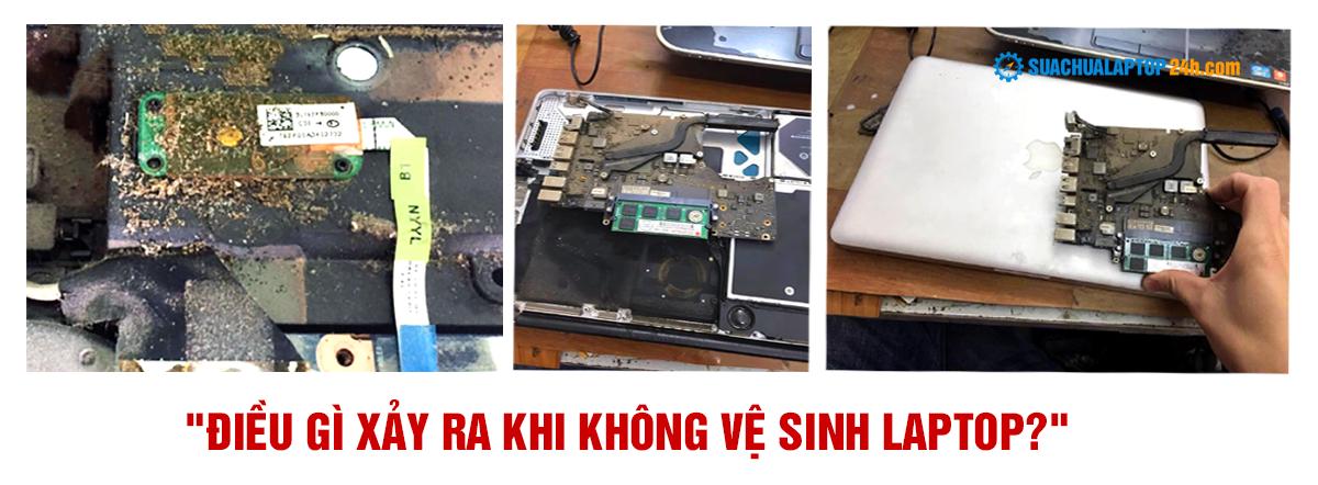 vệ sinh và bảo dưỡng Laptop