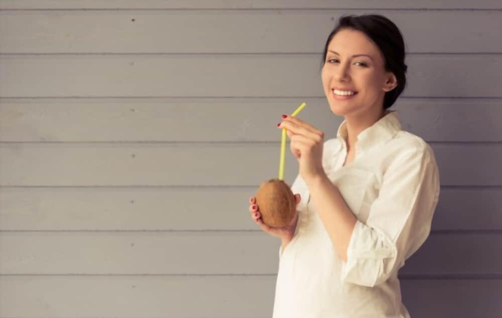 Craving coconut milk during pregnancy