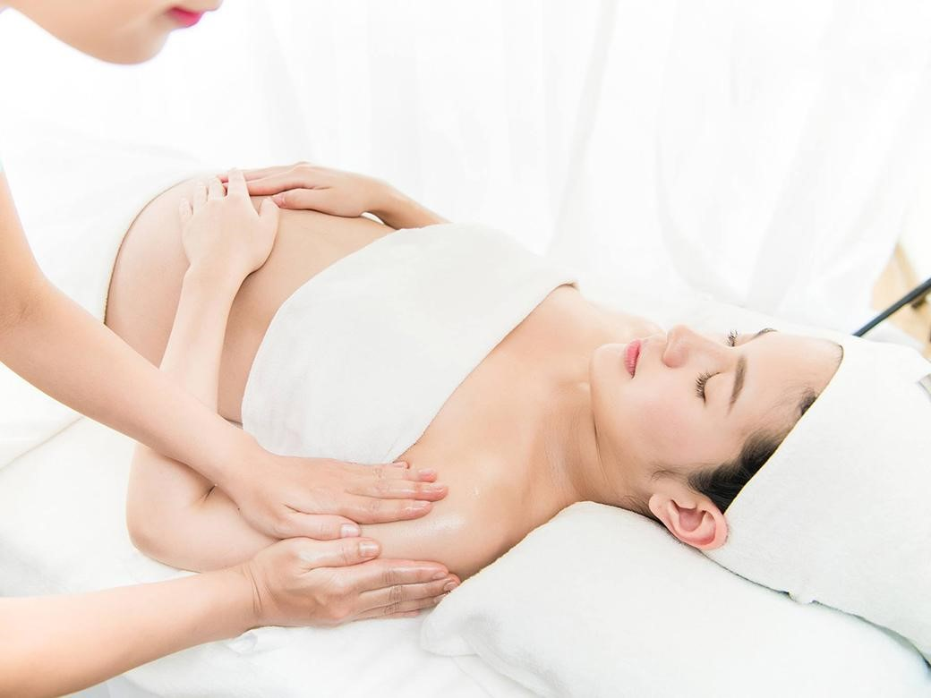 massage bầu