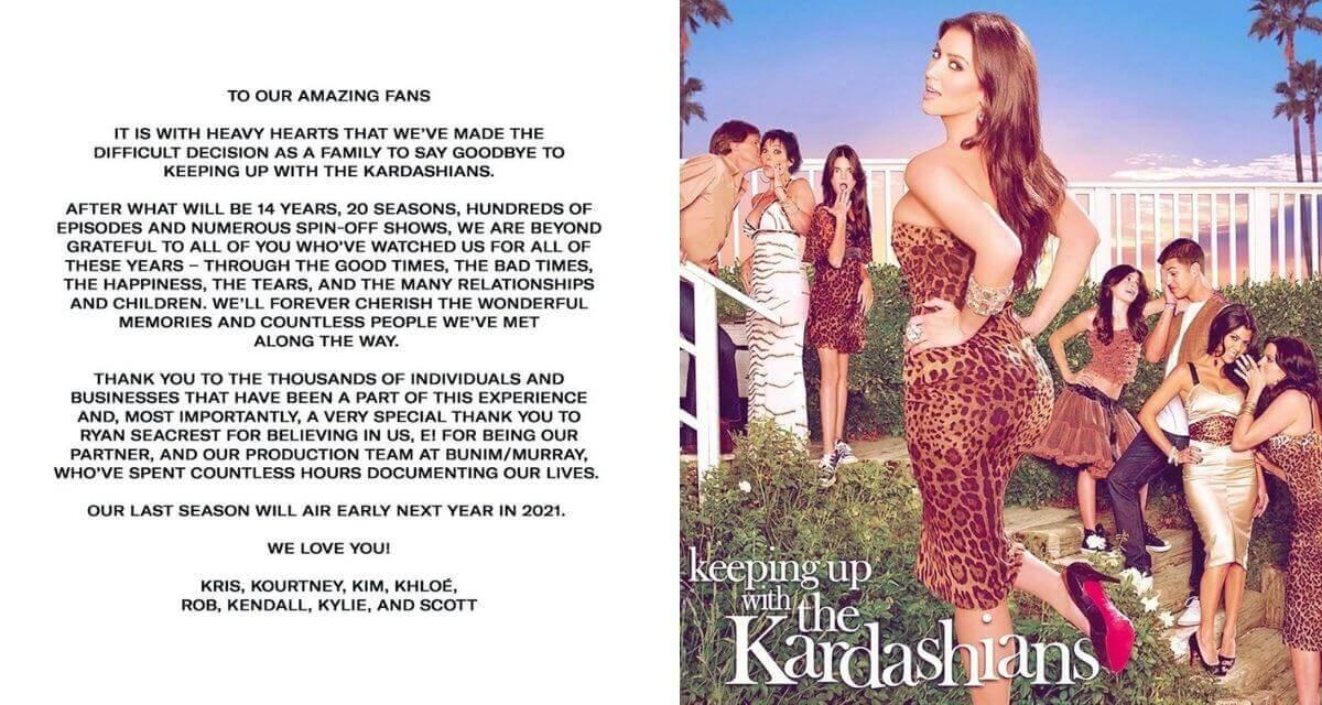 """What Kim and Khloe are saying as the series """"Keeping Up with the  Kardashians"""" is Ending"""