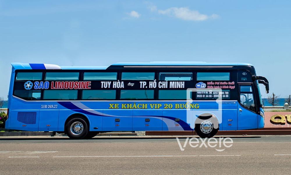 Xe Sao Limousine đi Phú Yên