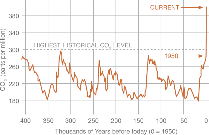 Causes of Global Warming: the Human impact