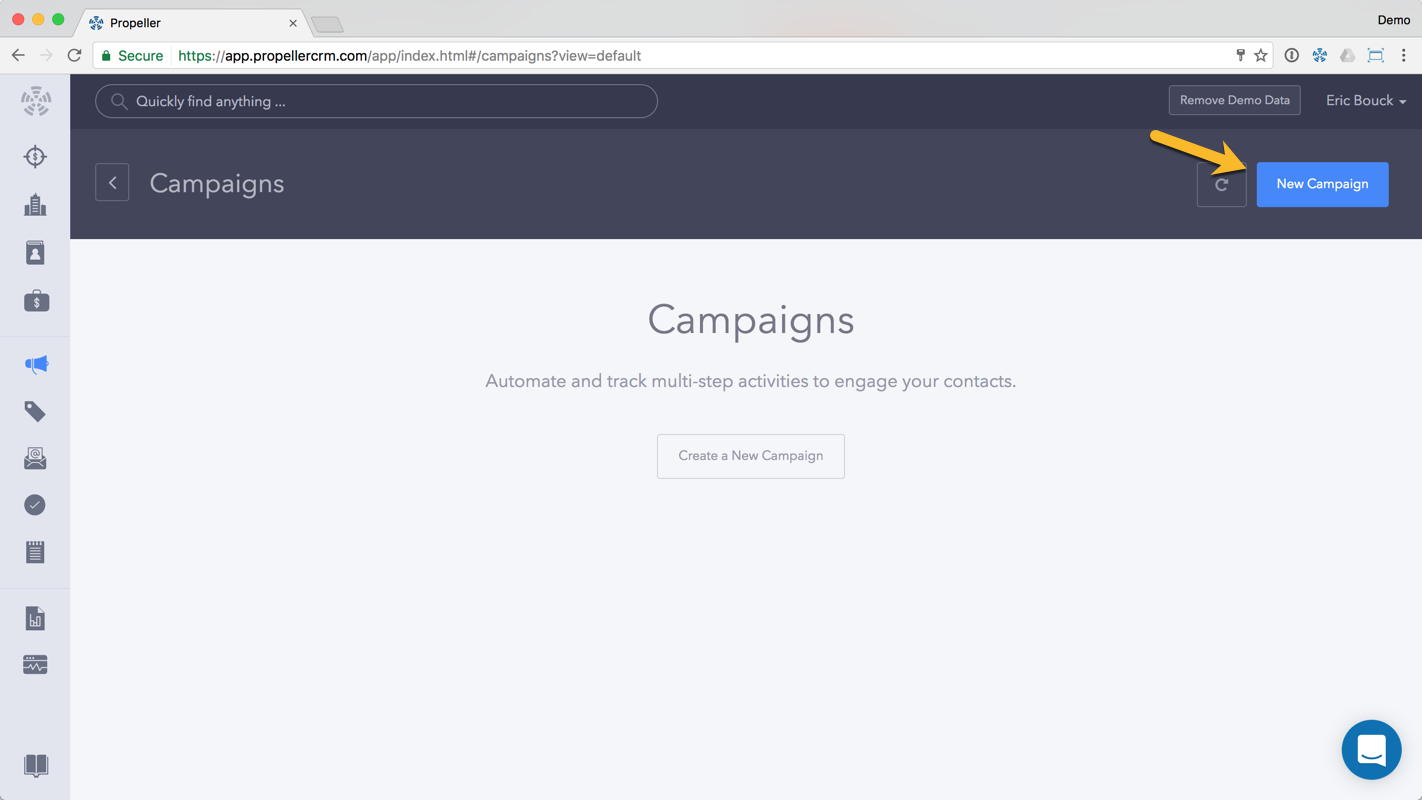 Step 3: Set up your campaign