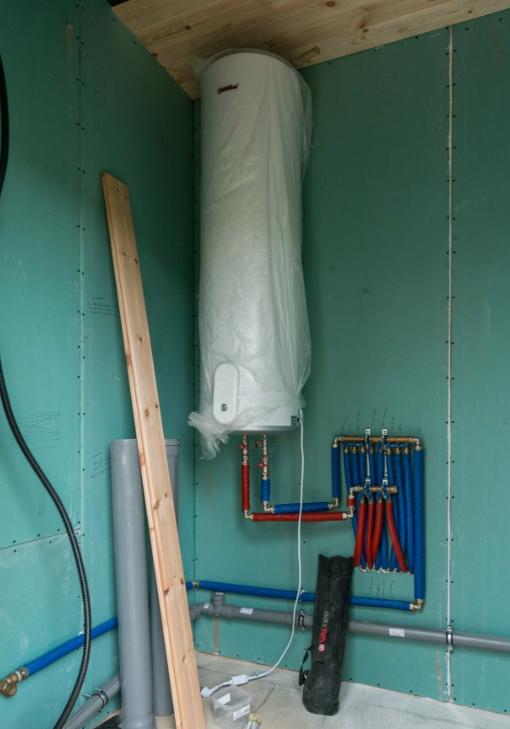 Домашная газовая котельная