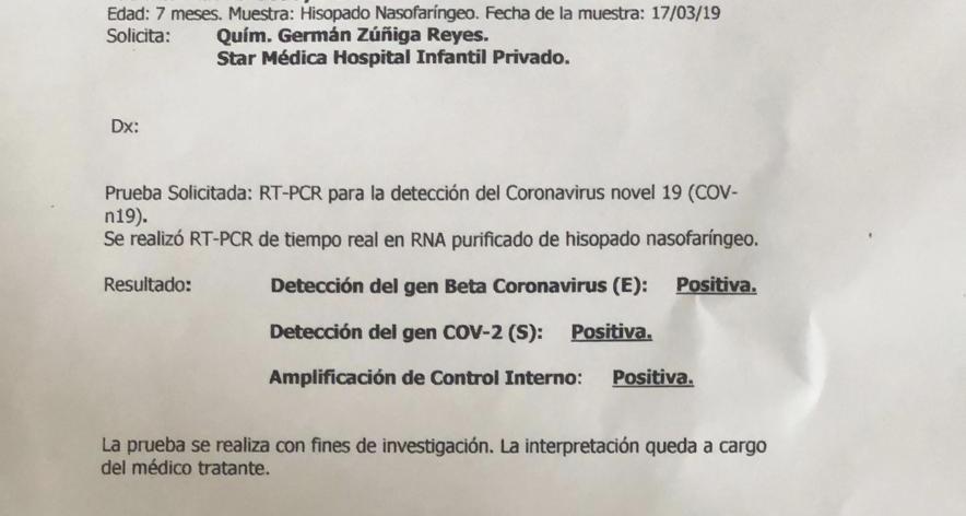 El bebé que sobrevivió al coronavirus y la crisis sanitaria que México