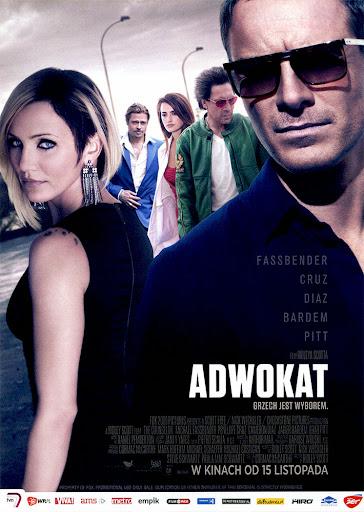 Przód ulotki filmu 'Adwokat'