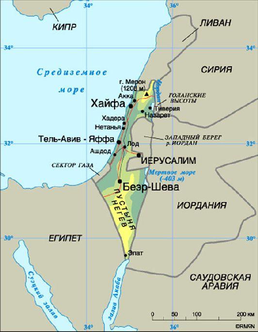 Израиль и страны-соседи