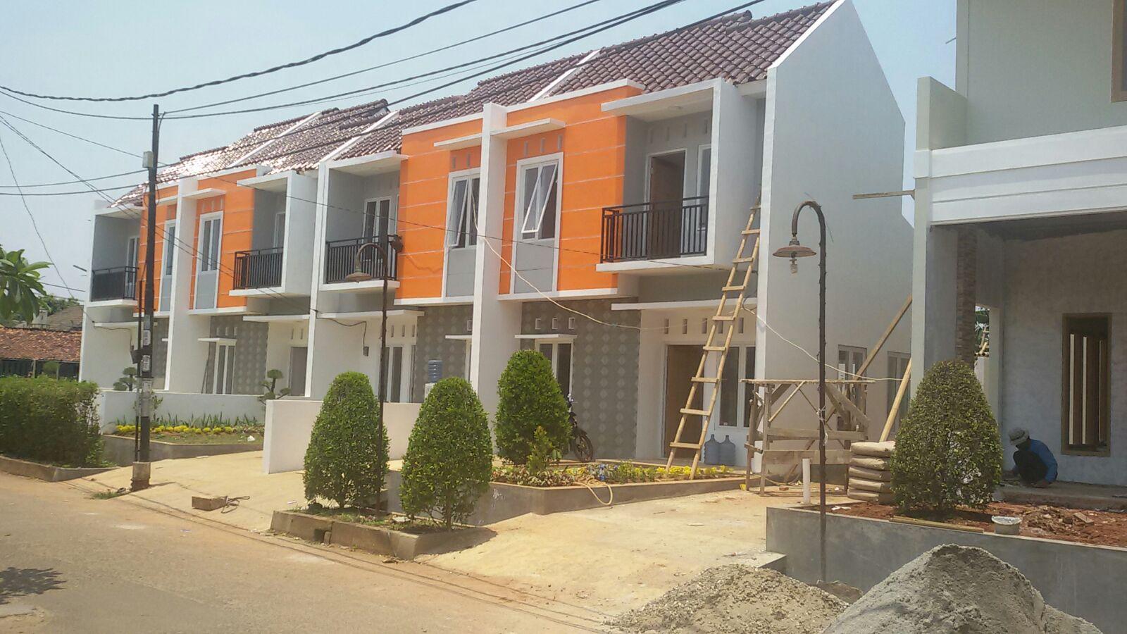 Rumah Cluster Baru Murah Desain Rumah 2 Lantai Dengan Harga 1