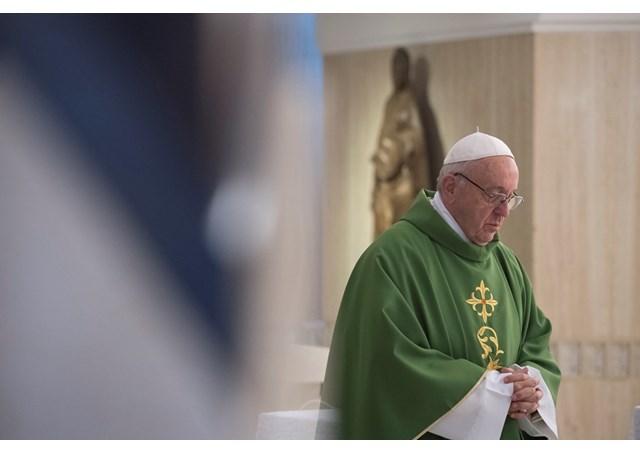Đức Thánh Cha giảng Lễ: 'hãy xin Chúa sự can đảm để bước theo Chúa Giê-su'