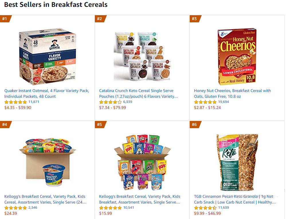 Amazon bestsellers for the health care products
