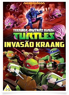 As Tartarugas Ninja Invasão Kraang   DVDRip   Dublado