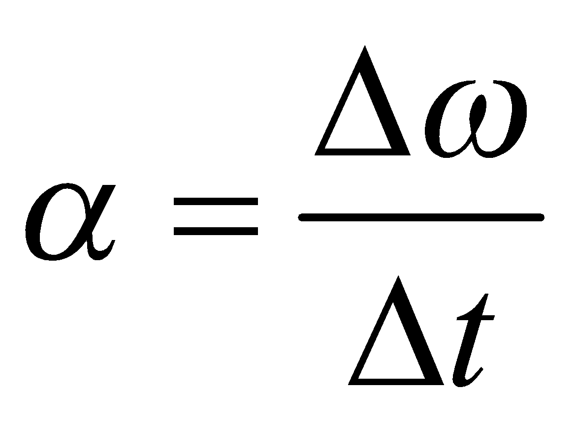 Angular Acceleration Formula