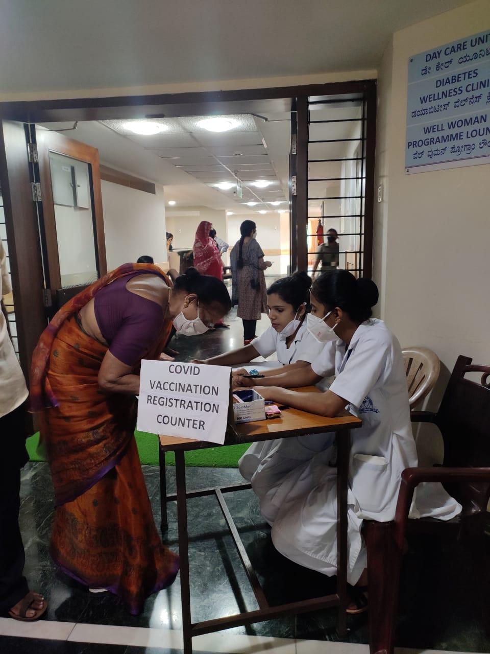 Register for COVID Vaccine Mangalore