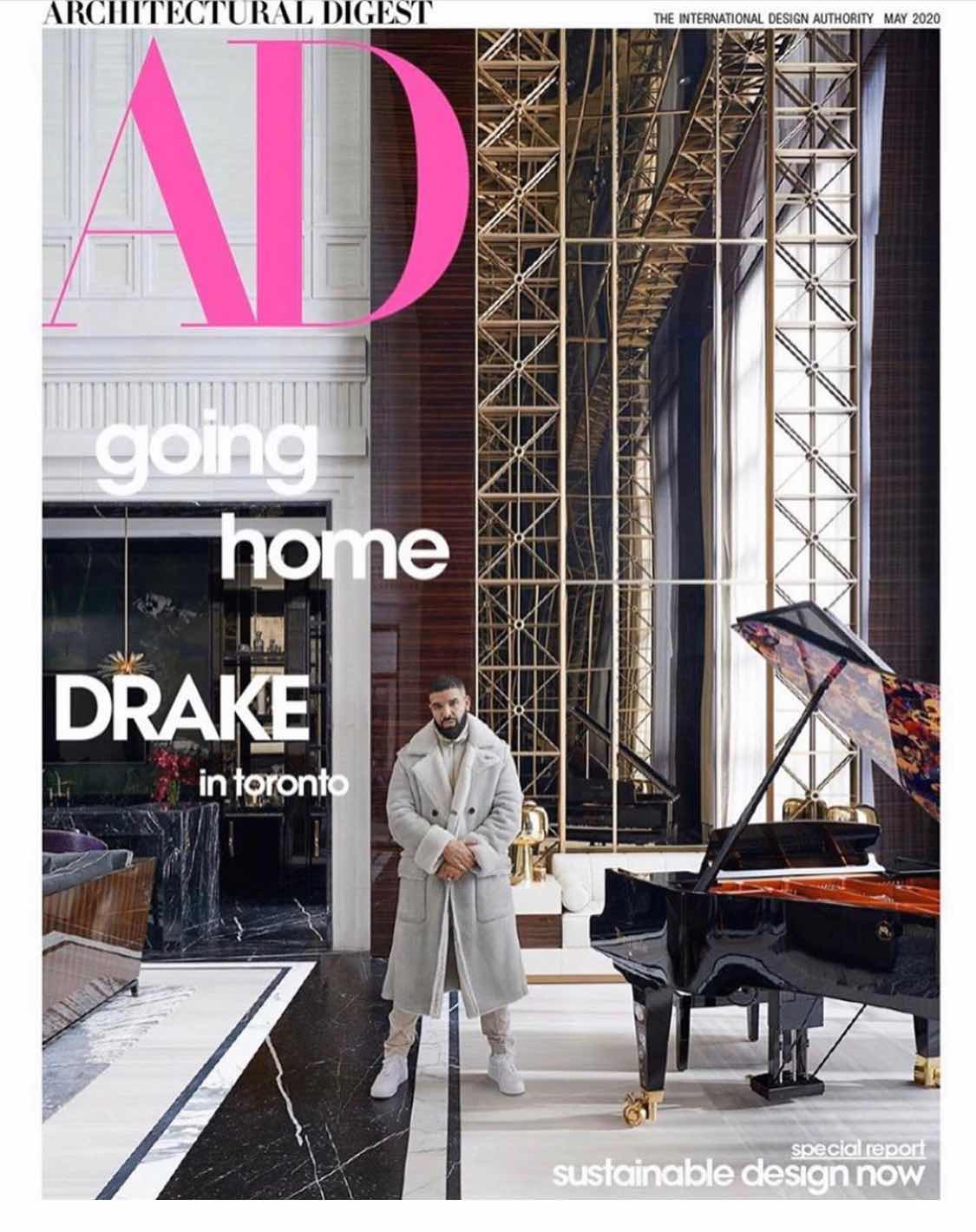 Inside Drake's Toronto Home