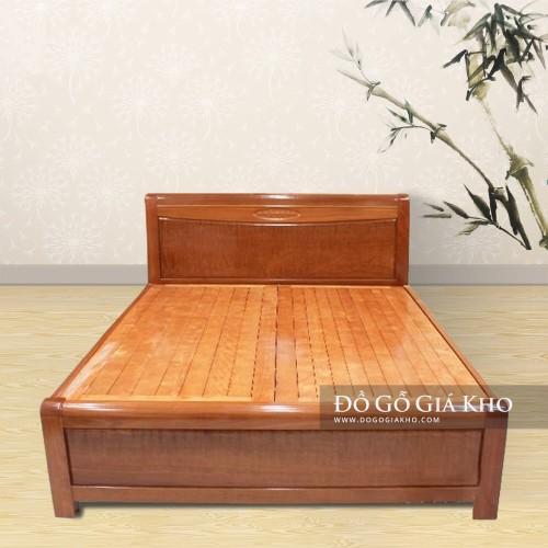 Giường gỗ Xoan Đào Nu - GN068