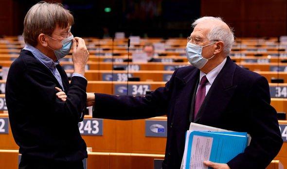 Guy Verhofstadt Joseph Borrell