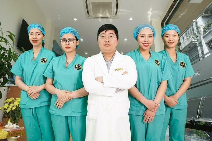 Đội ngũ Y Tá & Bác sĩ nhiều năm kinh nghiệm PTTM tại TMV Dr Hoàng Hà.