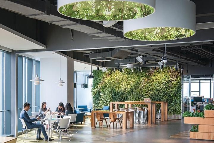 Thiết kế thi công văn phòng xanh làm tăng hiệu quả làm việc