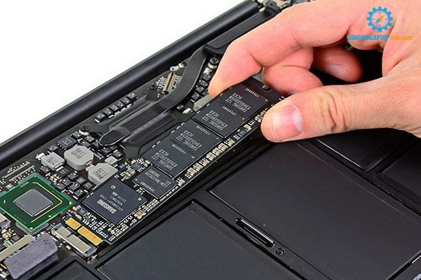 thay card wifi Macbook