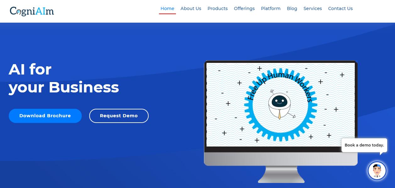 CogniAIm's homepage