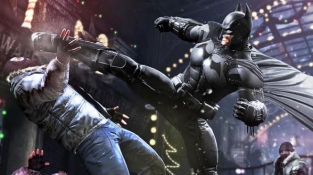 Arkham Origins combat