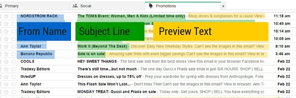 preview text cold email