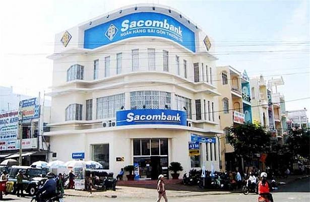 rút tiền mặt thẻ tín dụng Sacombank