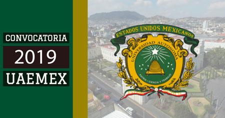 Convocatoria 2019 UAEMEX