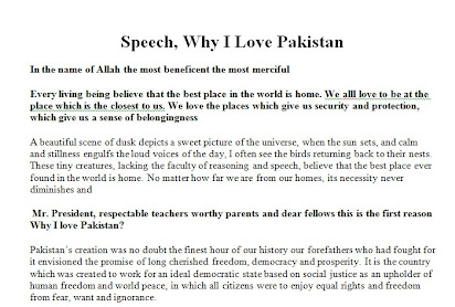 Why i love pakistan essay for 2nd year easy