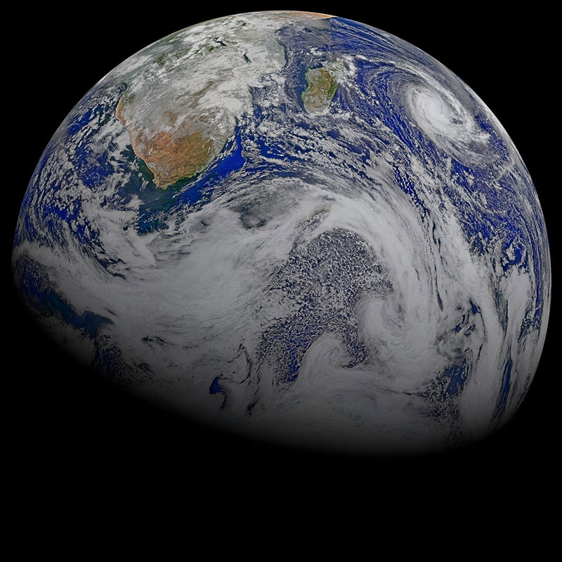 space image of earth