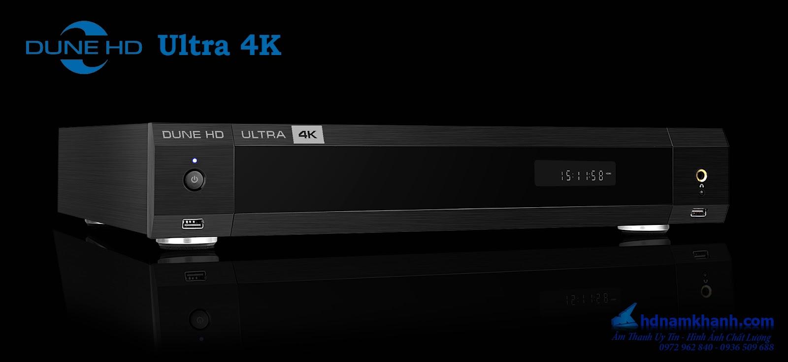 Đầu Dune HD Ultra 4K, 4K Player Android cao cấp nhất của Dune