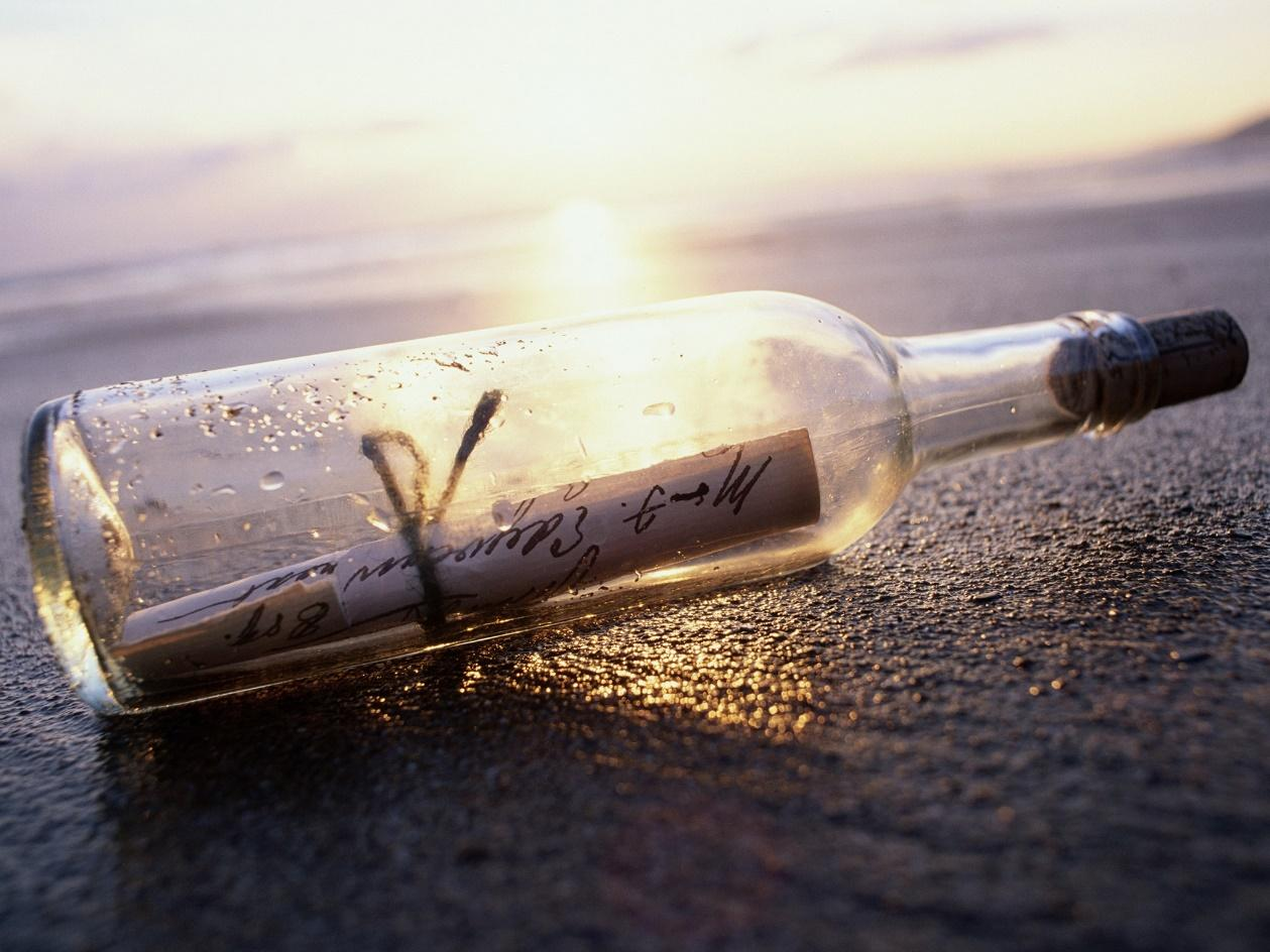 This Message in a Bottle Made it From New York to France | Condé Nast  Traveler