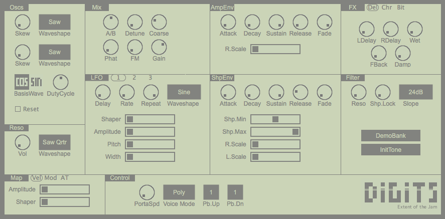 digits free vst instrument