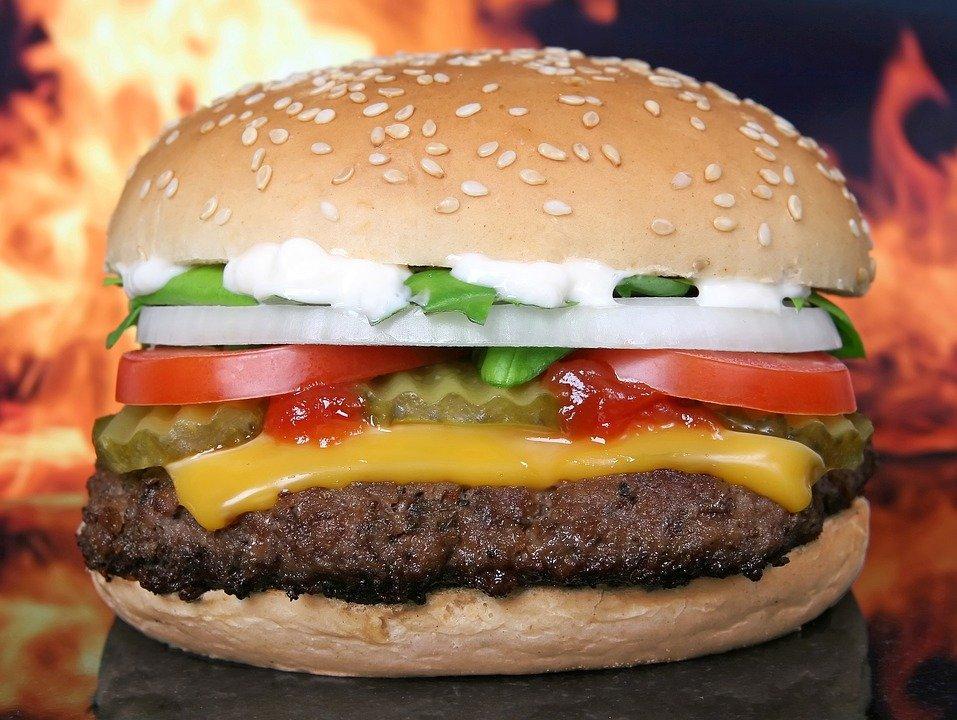 Hamburger, Burger, Barbeque, Bbq, Beef, Bun