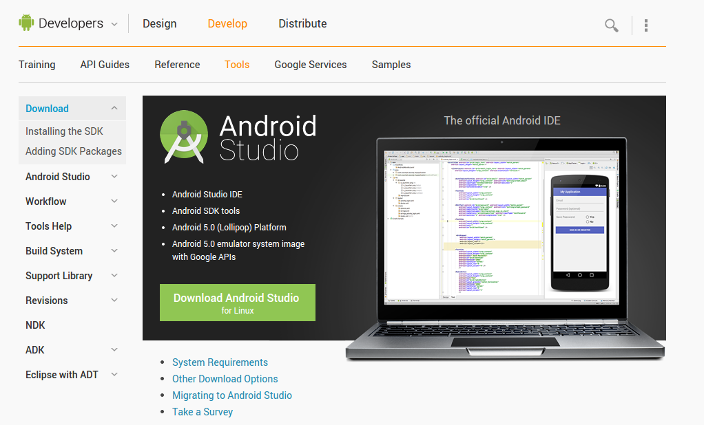 Installation of Android Studio