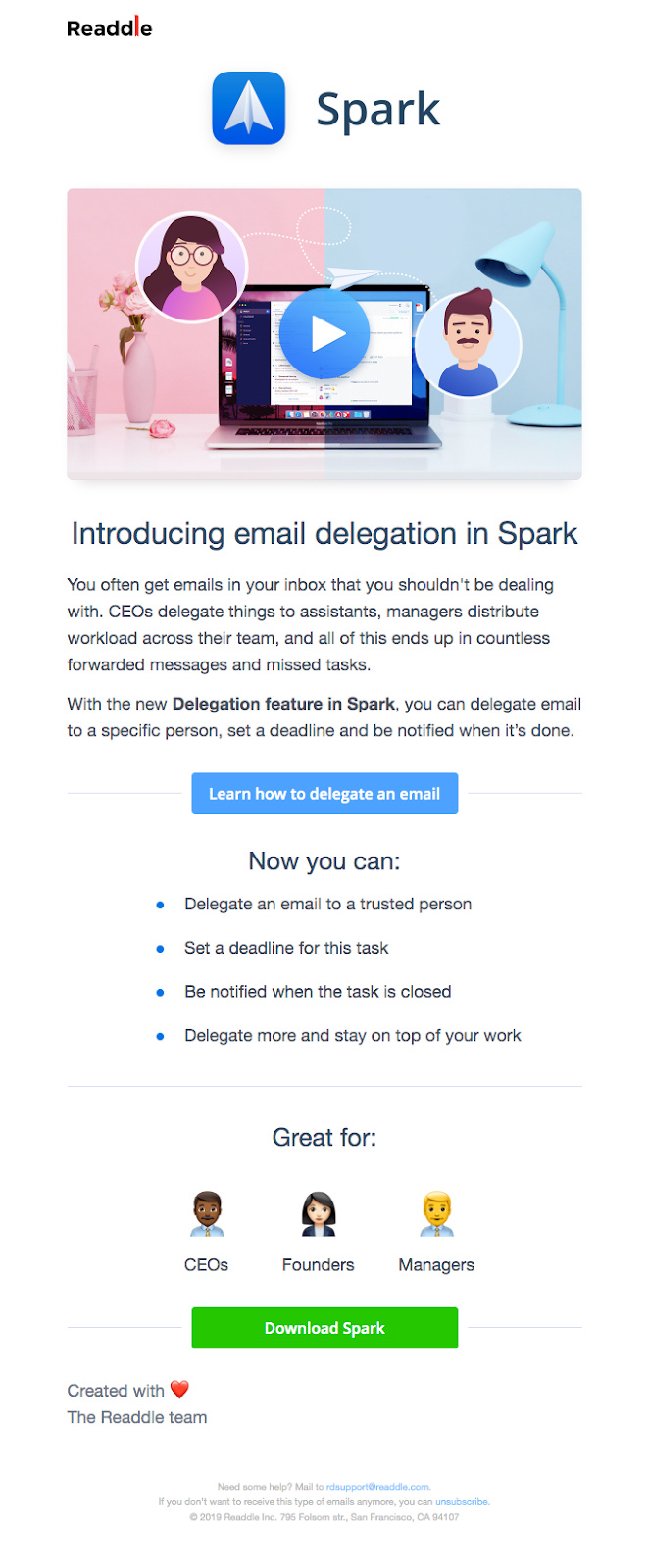 email template customization