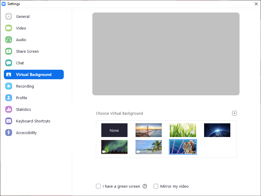 how to upload virtual background in Zoom