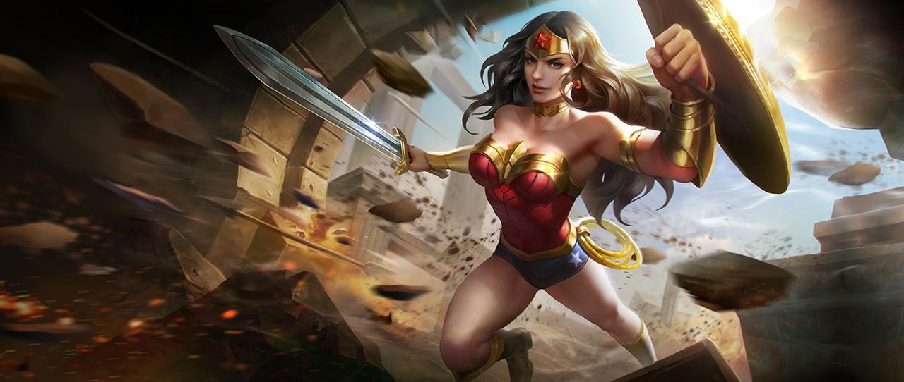 Hướng dẫn chơi Wonder Woman Liên Quân giai đoạn giữa và cuối trận