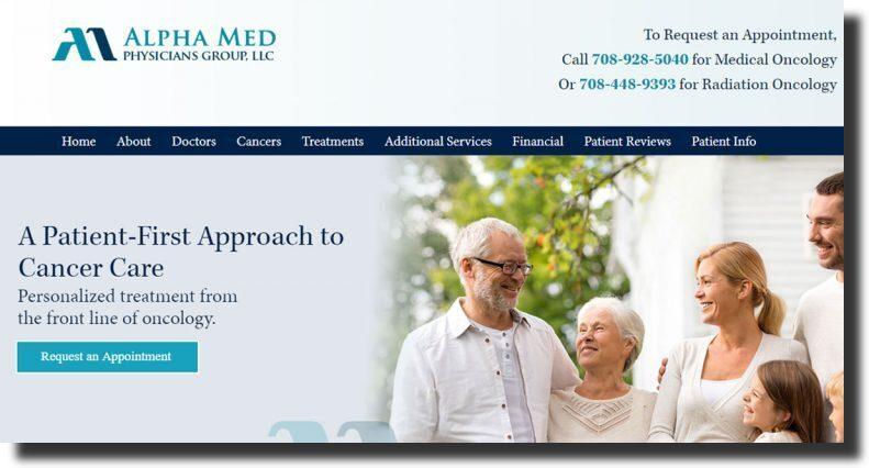 Alpha Med Physicians website