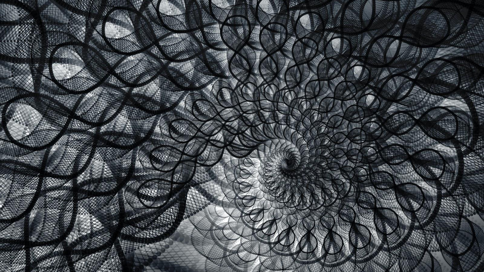 black and white abstract image